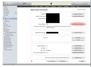 How to Create a US iTunes Account in another Country.